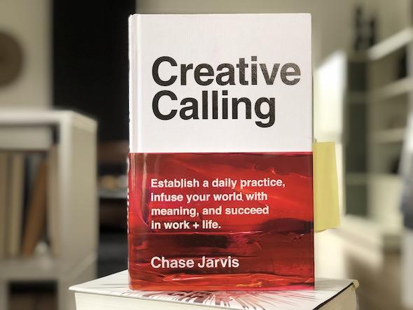 Buch Buchbesprechung deutsch creative Calling von Chase Jarvis