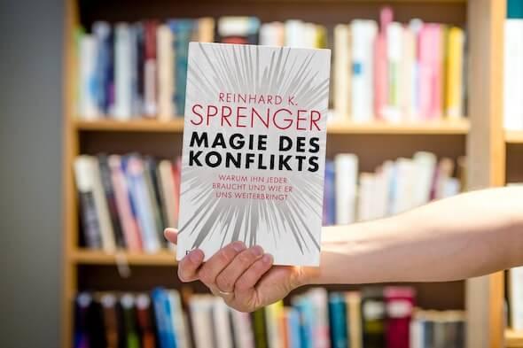 Buchbesprechung Magie des Konflikts Reinhard Sprenger