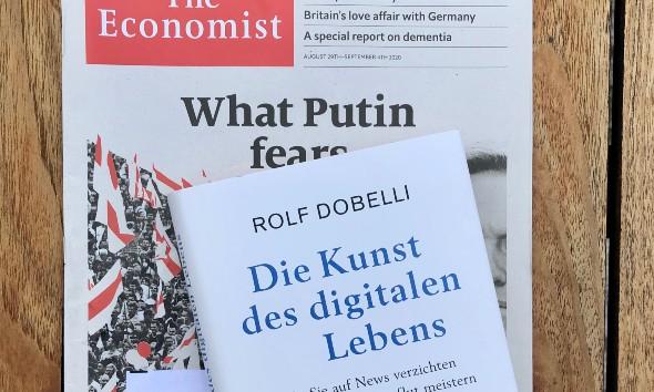 Die Kunst des digitalen Lebens / Die News Diät von Rolf Dobelli