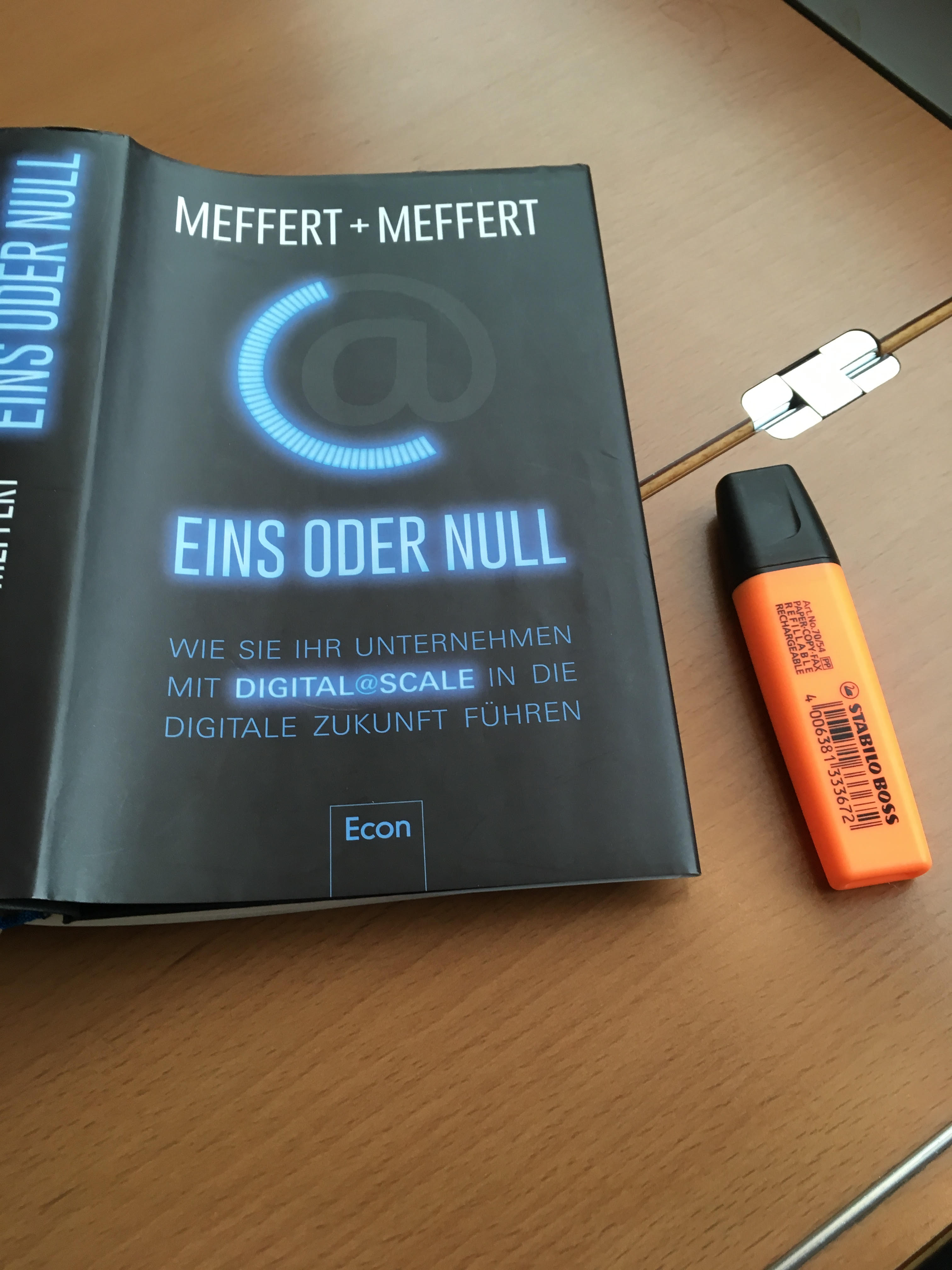 Buchbesprechung: Eins oder Null - von Jürgen und Heribert Meffert - McKinsey