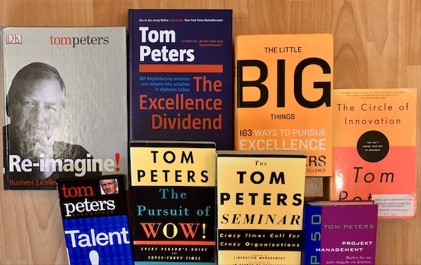 Buchbesprechung Tom Peters Excellence Dividend Deutsch